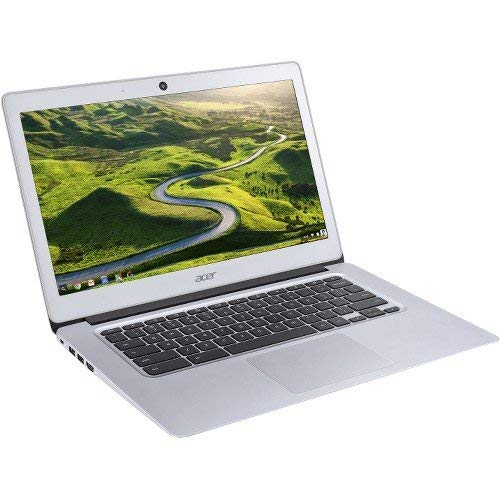 "Acer 14"" Chromebook Intel Celeron 4GB Memory 32GB eMMC Flash Memory Sparkly silver NX.GC2AA.005"