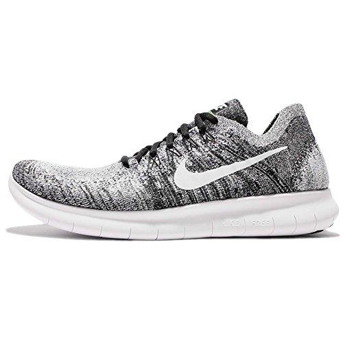 uk availability c143a 55f94 volt white Rn Scarpe Neroblack Flyknit Nike 2017 Uomo Running Free 003 Da  OPXuikZT ...