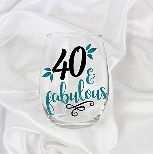 40th birthday gift for women 40 and fabulous