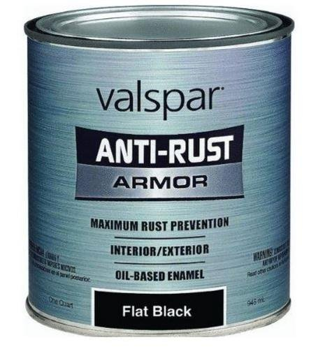 Valspar Anti Rust Industrial Alkyd Enamel (Gloss Alkyd Paint Semi Enamel)