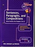 Elements of Language, Holt, Rinehart and Winston Staff, 0030563224