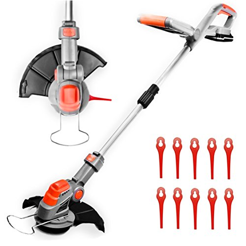 Cordless Strimmer 18V/20V-Max Lithium-Ion, Telescopic Lightweight Powerful Grass...