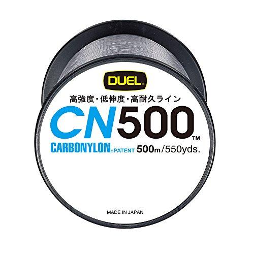 デュエル(DUEL) カーボナイロンライン CN500 500m 3号 クリアー H3453-CLの商品画像