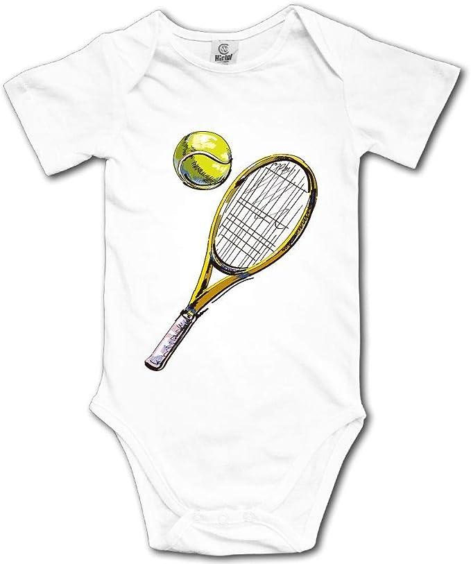 Mono de Escalada para bebés y niños Raqueta y Pelota de Tenis ...