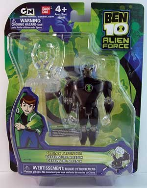 Ben 10 Alien Force 4 Inch Action Figure Alien X DEFENDER ...