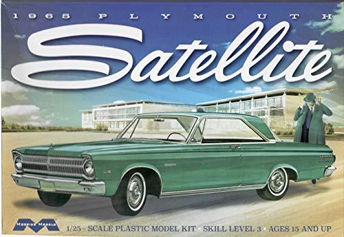 (Moebius Models - 1965 Plymouth Satellite Car 1:25 Scale - 1215 Model Kit)