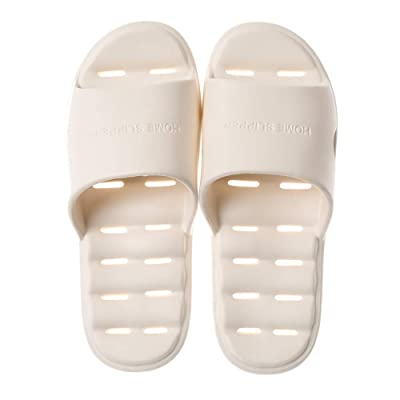 GUOLUOFEI Sandal Slippers Quick Drying Bathroom Slippers Gym Slippers Soft Sole Open Toe Home Slippers   Slippers