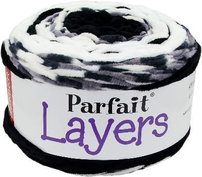 Premier Yarns 1070-01 Parfait Layers Yarn, Black