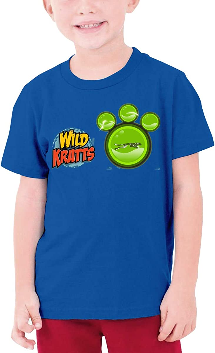 BingFeng Design Maxresdefault Wild Kratts Funny T Shirt Short Sleeve for Teenagers Black
