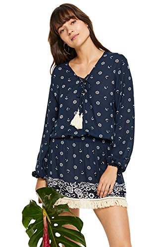Coolchange Women's Wovens Tunic Swim Cover Up Baltic S by Cool Change (Image #1)