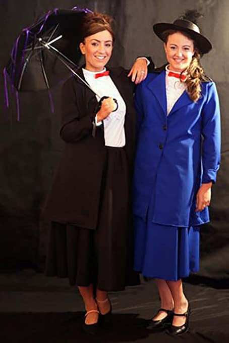 Vintage Style Children's Clothing: Girls, Boys, Baby, Toddler  Poppins Black Fancy Dress Costume - All Ages/Sizes $78.00 AT vintagedancer.com