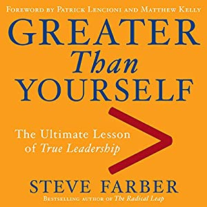 Greater Than Yourself Audiobook