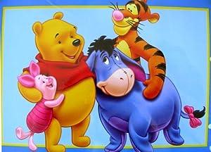 Disney 100 Acrewood Carpet   Winnie The Pooh And Friends Rug