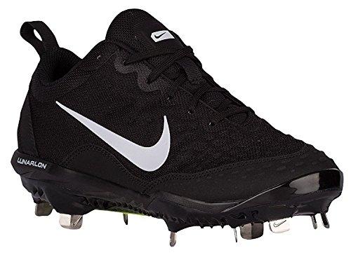 Nike Hyperdiamond 2 Pro Kvinnor Metall Softball, Baseball Knapar Skor Svart / Vit