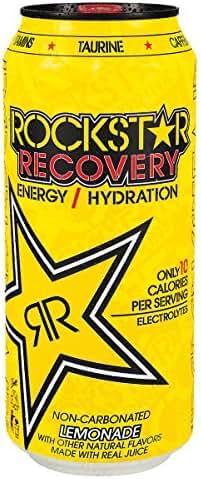 Energy & Sports Drinks: Rockstar Recovery