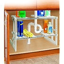 under sink sliding shelf. Black Bedroom Furniture Sets. Home Design Ideas