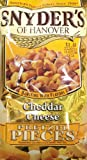 snyders cheese pretzels - Snyder's of Hanover Cheddar Cheese Pretzel Pieces, 12 Ounce (2 Bags)