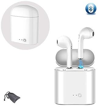 Auriculares Bluetooth, Mini Auriculares Deportivos, compatibles con Samsung Galaxy S8, S8 Plus, Android, iOS: Amazon.es: Instrumentos musicales