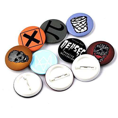 Watch Dogs 2 DEDSEC Marcus Holloway Badges Brooch Mens Backpack Pins  Replica (10pcs) - Buy Online in Qatar.  f40bf8bd068c0