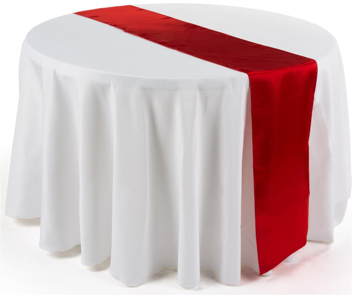 amazon com satin table runner bulk pack of 20 available in choice