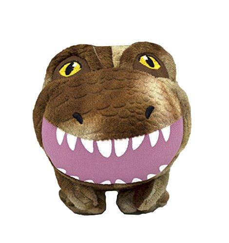 Jurassic World Tyrannosaurus Rex Plush Ball Body Toy for Dogs| Dinosaur Dog Toy, Soft Plush T-Rex Ball Body Squeak Toy