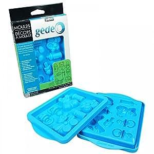 Gedeo 766124 - Molde para magdalenas, color azul