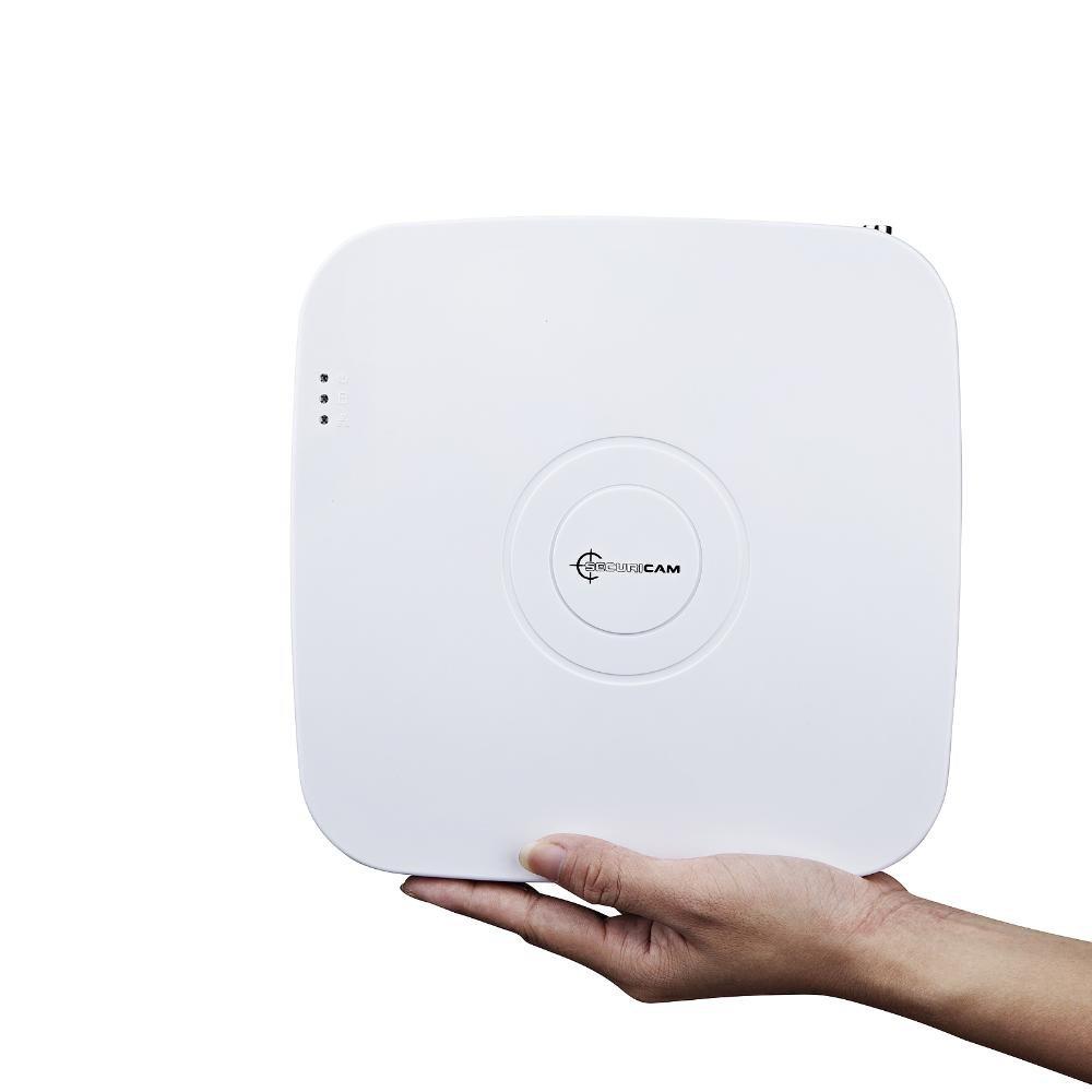 SECURICAM® 8 canales de color blanco Mini compacto FULL D1 H.264 DVR - 4TBHD: Amazon.es: Bricolaje y herramientas