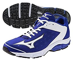 Mizuno Usa Mens Men\'s Wave Swagger 2 Trainer Baseball Cleat,Royal/White,13 D US
