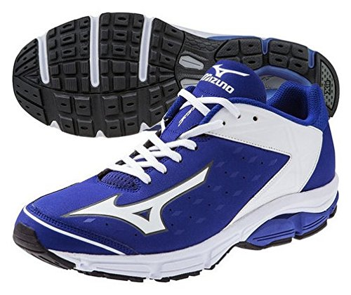 Mizuno USA Mens Men's Wave Swagger 2 Trainer-M, Royal/White 12 D US