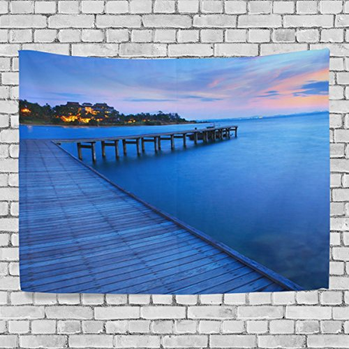 MRMIAN Nice Sea Blue Sky Boardwalk christmas gift