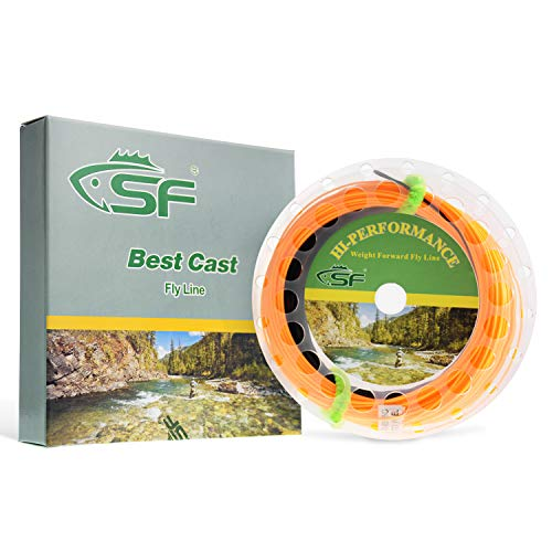 SF Sinking Tip Line Fly Fishing Line Weight Forward Taper Floating Sinking Tip Line WF5/S3