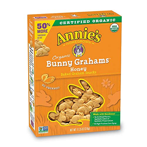 Annie's Honey Bunny Grahams Box, 11.25 Ounce