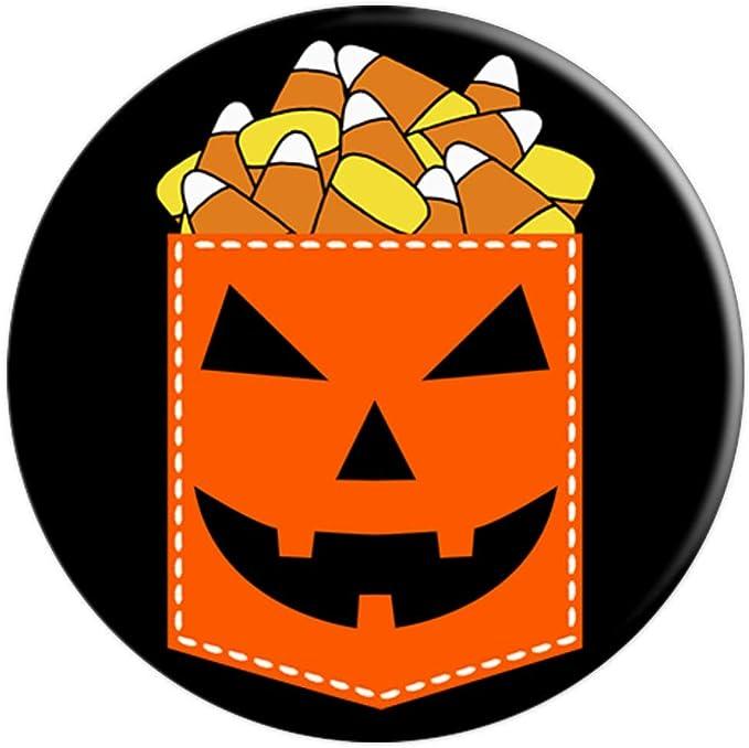 Halloween Cell Phone Accessory Halloween Candy Corn Pumpkin 260027 Black NEW