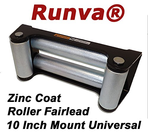 Runva Roller Fairlead 10' Universal 4x4 Towing Off Road