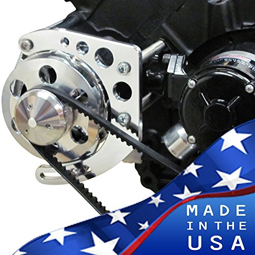 - Chevy Big Block Alternator Bracket 396-427-454 - Electric Water Pump