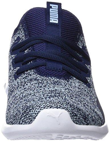 Puma Blu 04 Wn's Carson Peacoat Knit 2 Donna X cerulean Running Scarpe grSZ7gnU