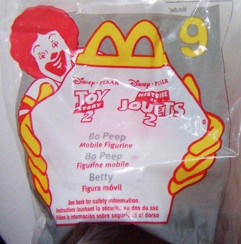 1999 Mcdonalds Toy Story 2 Bo Peep Happy Meal Toy #9 MIP Disney