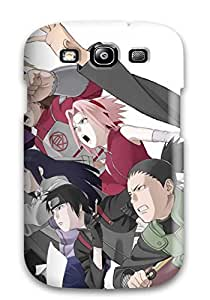 Bruce Lewis Smith Galaxy S3 Hybrid Tpu Case Cover Silicon Bumper Naruto And Team