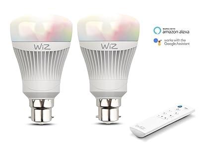 Wiz colors lampadine led smart b wifi luce bianca e colorata