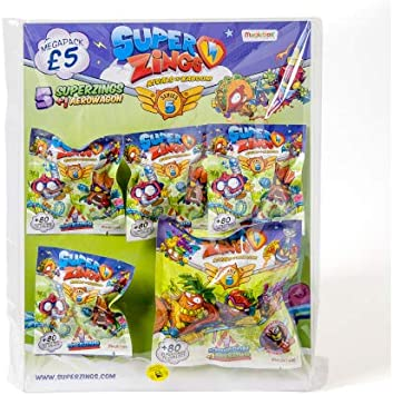 SuperZings Serie 5 Megapack (Magic Box PSZ5M112UK00): Amazon.es: Juguetes y juegos