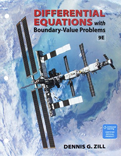 Bundle: Differential Equations with Boundary-Value Problems, Loose-leaf Version, 9th + WebAssign Printed Access Card for