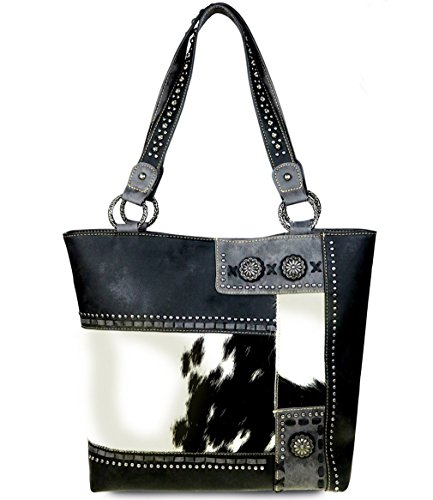 new-trinity-ranch-hair-on-leather-collection-concealed-handgun-tote-black