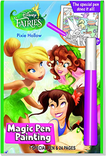 Invisible Ink Disney Fairies Magic Painting Book 2