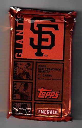 2009 Topps Baseball San Francisco Giants Team Set