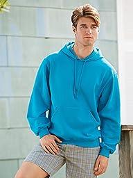 Jerzees 8 oz. NuBlend 50/50 Pullover Hood, Scuba Blue - XXX-Large