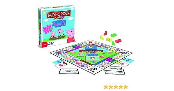 Genuine Peppa! Peppa Pig Monopoly Edades 4+: Amazon.es: Hogar