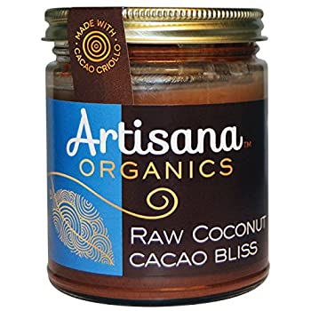 Artisana Cacao Bliss Coconut, 8-Ounce (Pack of 6)