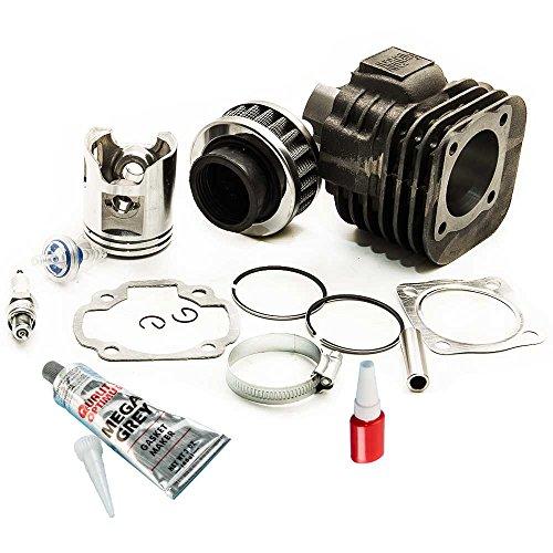 maXpeedingrods for Polaris Scrambler 90 Cylinder Piston Gasket Top End Kit 2001 2002 (Pol Piston)
