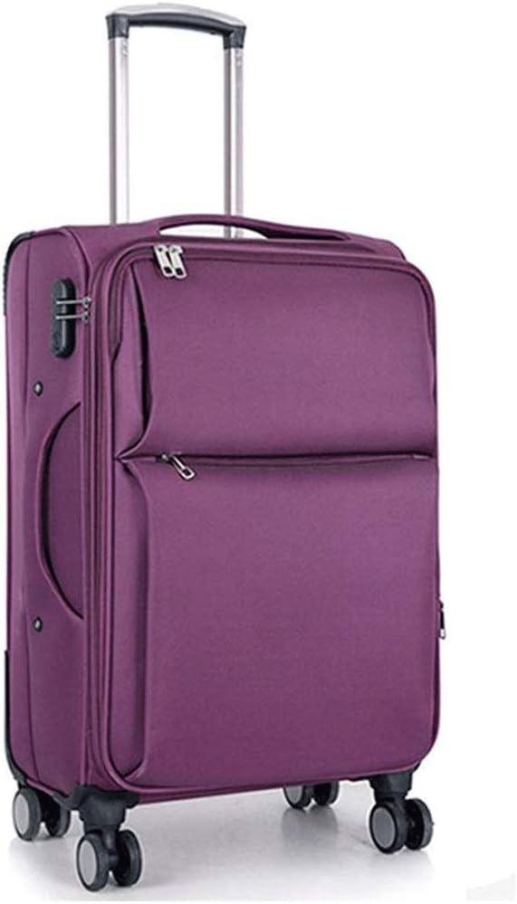 SMX Explora Land Travel Equipaje La Tapa de la Maleta Protector Adapta a 20-28 Pulgadas Oxford Equipaje (20-28 Pulgadas de Equipaje) (Color : Purple, Size : 26in)