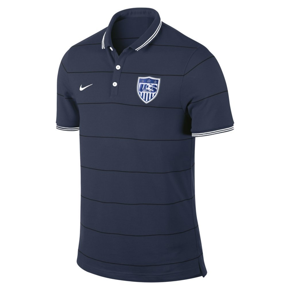 b5f6dc85dc5 Amazon.com   Nike USA Soccer Polo Navy Size S   Sports   Outdoors